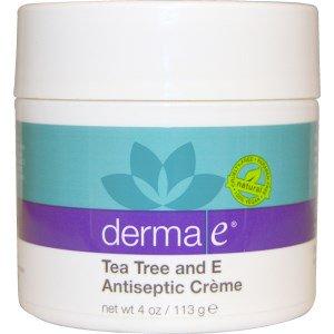 Derma E, ティーツリー・E防腐剤クリーム、4 oz (113 g)