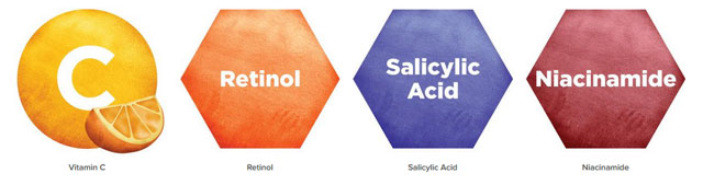 InstaNatural, 老化防止&スキンクリアリングセラム、1液体オンス(30 ml)