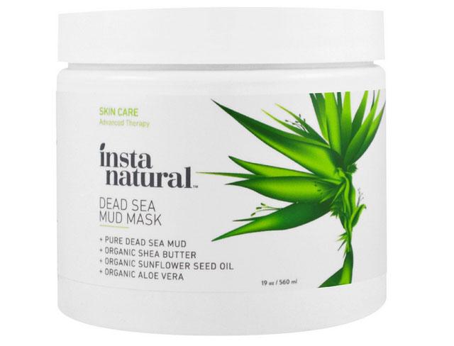 InstaNatural, シアバター入り死海の泥マスク、フェイス & ボディー、19 oz (560 ml)