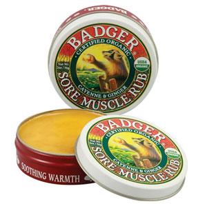 Badger Company, ソアマッスルラブ、 カイエン&ジンジャー、 2オンス (56 g)