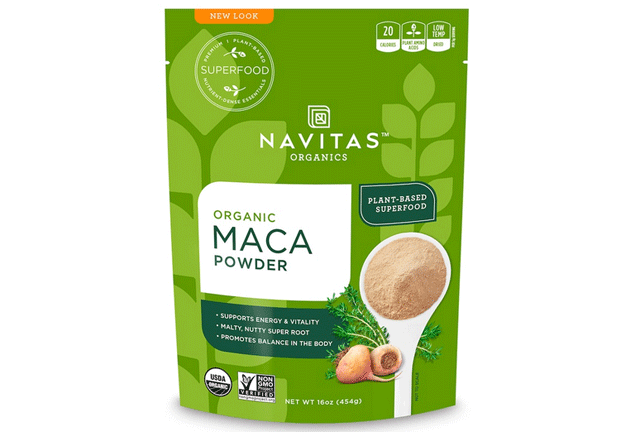 Navitas Organics, オーガニック、マカパウダー、16オンス(454 g)