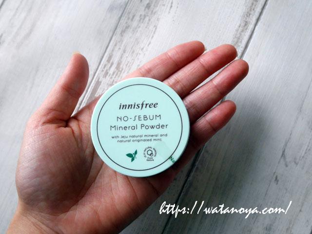 Innisfree, 無皮脂ミネラルパウダー、5 g