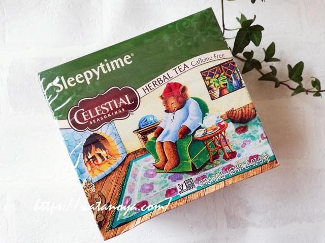 眠る前のリラックス、 Celestial Seasonings, ハーバルティー、カフェインフリー、スリーピータイム、ティーバッグ40袋、2.0 (58