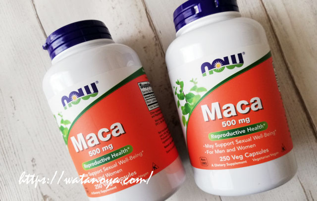 Now Foods, マカ、500 mg、250ベジキャップ