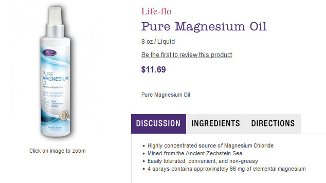 Life-flo, Pure Magnesium Oil, 8 oz (237 ml)