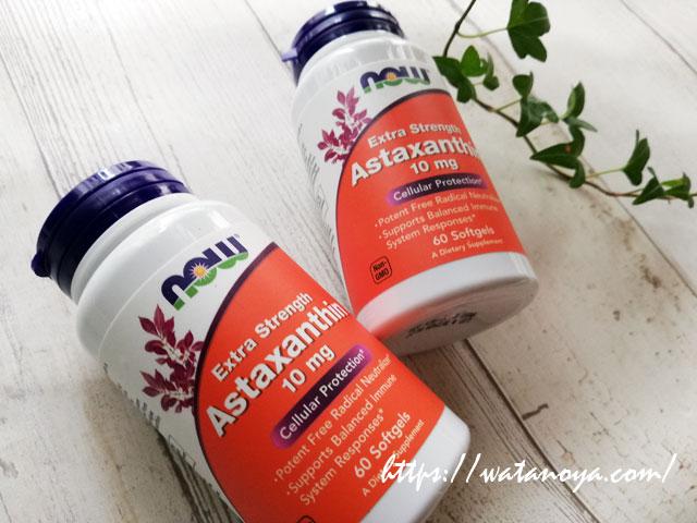 Now Foods, 超強力アスタキサンチン, 10 mg, 60ソフトゼリー