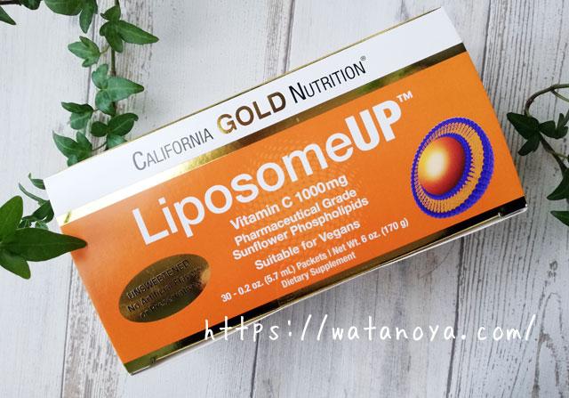CGN リポソームUP California Gold Nutrition, LiposomeUP, Liposomal Vitamin C, 1000 mg, 30 Packets, 0.2 oz (5.7 ml) Each
