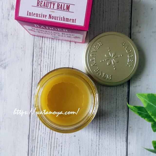 【バーム】Badger Company, Organic, Beauty Balm, Damascus Rose, 1 oz (28 g) $13.86