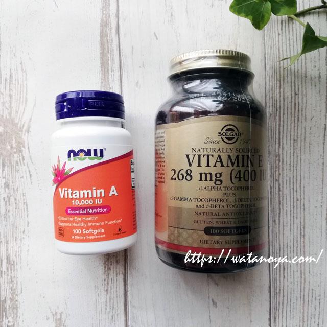 【サプリ】Now Foods, ビタミンA、 10,000 IU、 100ソフトジェル 【サプリ】Solgar, Vitamin E, 400 IU, 100 Softgels