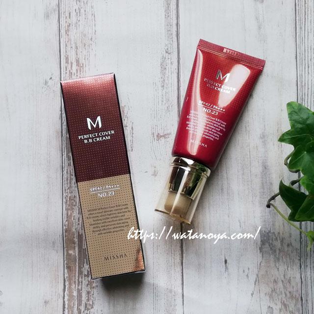 】Missha, Perfect Cover BB Cream, SPF 42 PA+++, No. 23 Natural Beige, 50 ml