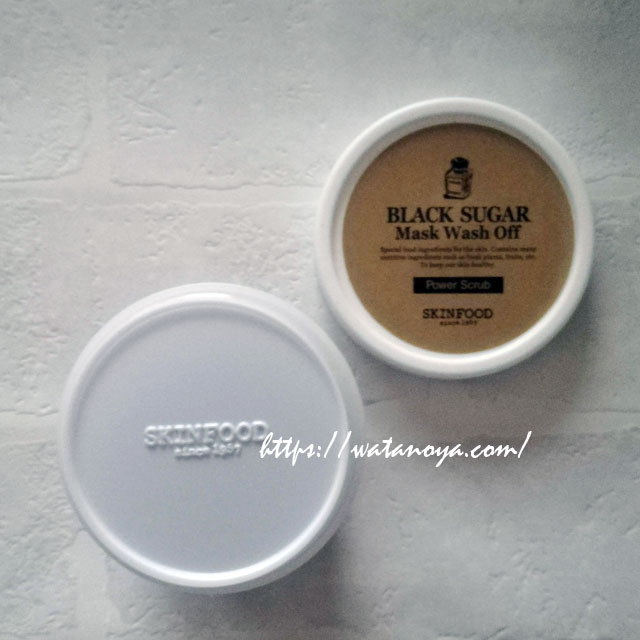 Skinfood, ブラックシュガーハニー マスクウォッシュ Off、 3.5 oz (100 g)