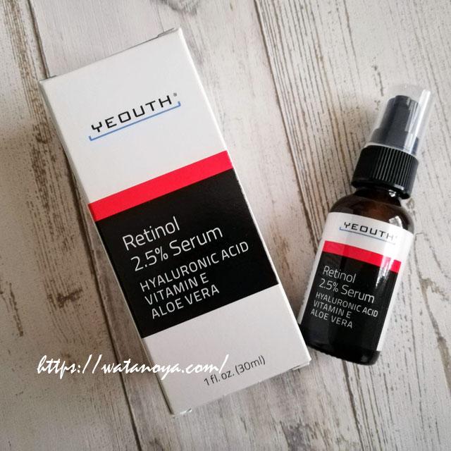Yeouth, Retinol Serum, 1 fl oz (30 ml) レチノールセラム 美容液