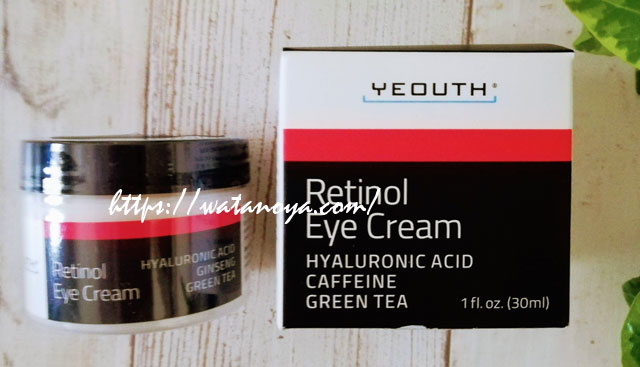 Yeouth, Retinol Eye Cream, 1 fl oz (30 ml)