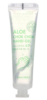 Tony Moly, Chok Chok, 62% Alcohol, Aloe Hand Gel, 30 ml