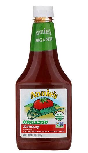 Annie's Naturals, オーガニック ケチャップ 24 oz (680 g)