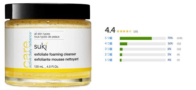 Suki , レスキュー、エクスフォリエイト・フォーミング・クレンザー、4.0 液体オンス(120 ml)