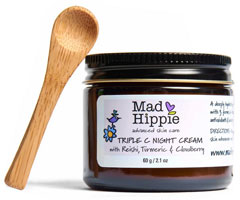 Mad Hippie Skin Care Products, トリプルCナイトクリーム、60g(2.1oz)