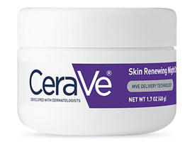 CeraVe, Skin Renewing Night Cream, 1.7 oz (48 g)
