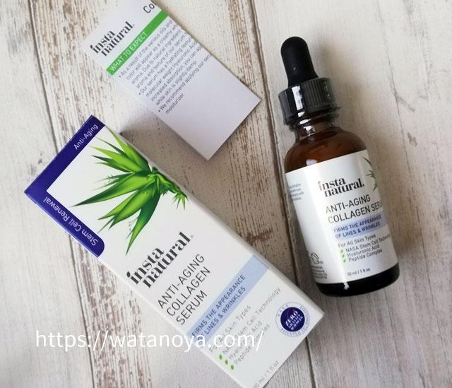 InstaNatural, エイジングケアコラーゲンセラム、30 ml(1 fl oz)