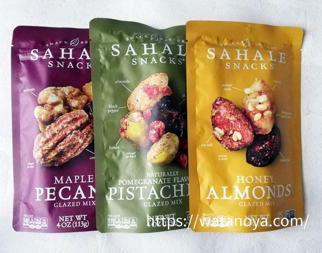 サハレスナック( Sahale Snacks )、ナッツとドライフルーツのミックス