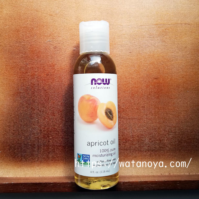 Now Foods, Solutions、アプリコットオイル、4液量オンス (118 ml)
