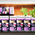 サンブコル Sambucol, ブラックエルダーベリー、発泡錠、発泡錠15粒