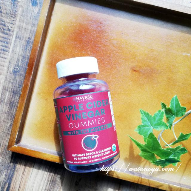 Havasu Nutrition, Apple Cider Vinegar Gummies with The Mother, Natural Apple, 60 Gummies