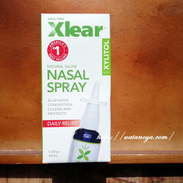 Xlear, キシリトールサイナスケアスプレー、 1.5液量オンス (45 ml)