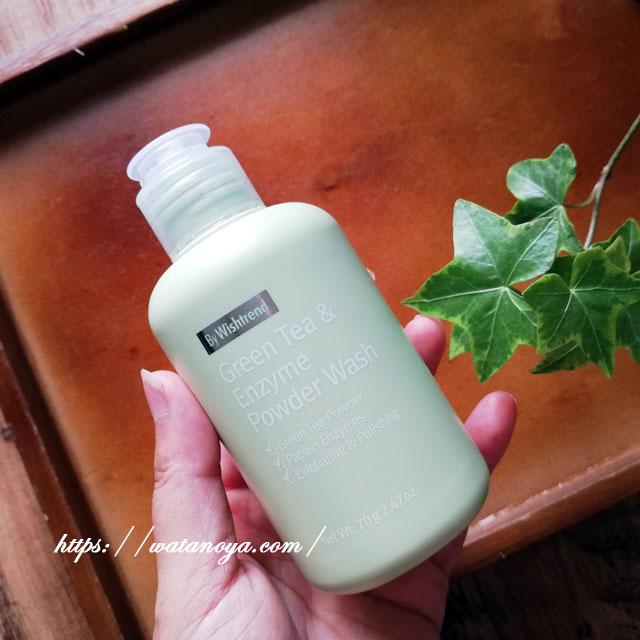 Wishtrend, 緑茶&酵素パウダーウォッシュ、2.47オンス (70 g)