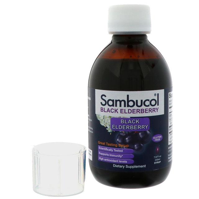 サンブコル( Sambucol )の ブラックエルダーベリーシロップ