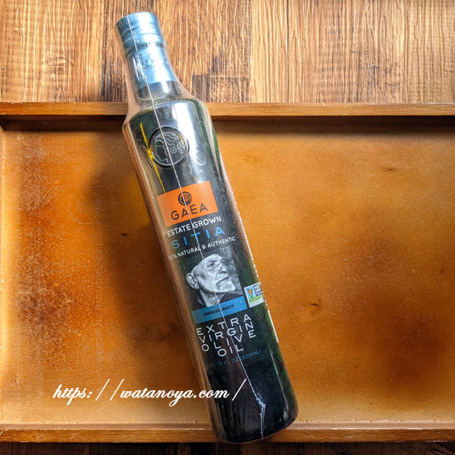 Gaea, グリーン & フルーティー、エキストラバージンオリーブオイル、17 fl oz (500 ml)